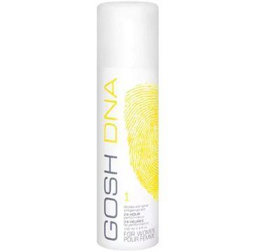 Gosh Dna 1 For Women( dezodorant spray 150 ml)