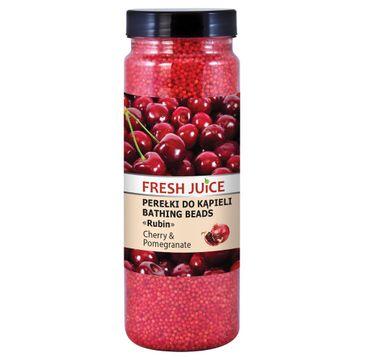 Fresh Juice – perełki do kąpieli Cherry & Pomegranate (450 g)