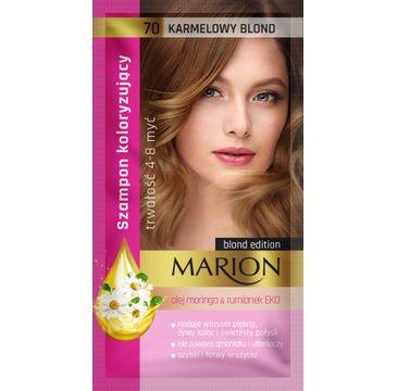 Marion – szampon koloryzujący nr 70 Karmelowy blond (1 szt.)