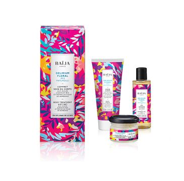 Baija – Delirium Floral Body Care zestaw krem do ciała 75ml + żel pod prysznic 100ml + peeling do ciała 60g (1 szt.)