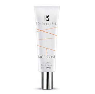 Dr Irena Eris Face Zone Even Tone Skin Enhancer – krem antyrodnikowy tonujący SPF 50+ (30 ml)
