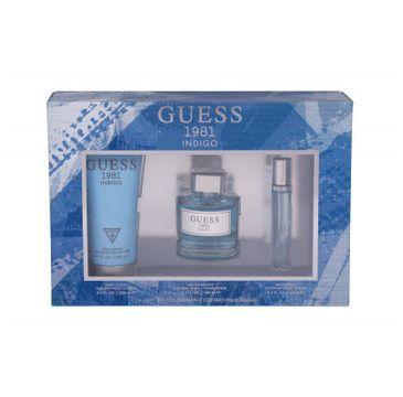 Guess Indigo zestaw woda toaletowa spray 100ml + miniaturka wody toaletowej 15ml + balsam do ciała 200ml