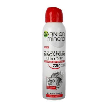Garnier Mineral dezodorant w sprayu Magnesium Ultra Dry 72h 150 ml