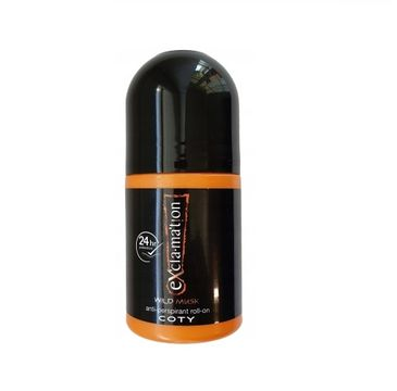 Exclamation – Wild Musk antyperspirant w kulce (50 ml)