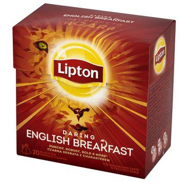 Lipton – Daring English Breakfast herbata czarna 20 piramidek (36 g)