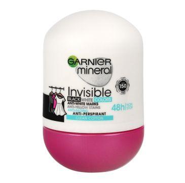 Garnier Mineral Invisible Clean Cotton - dezodorant roll-on 48h (50 ml)