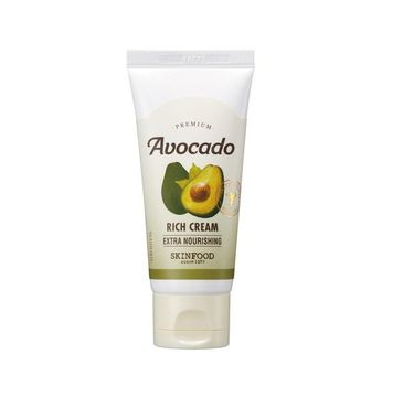 Skinfood Premium Avocado Rich Cream – odżywczy krem do twarzy z ekstraktem z awokado (60 ml)