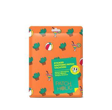 Patch Holic – Kojące płatki do naklejania Sticker Soothing Patch - Vacation (12 g)