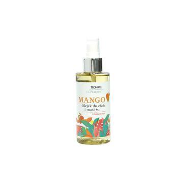 Mohani Wild Garden ujędrniający olejek do ciała i masażu Mango 150ml