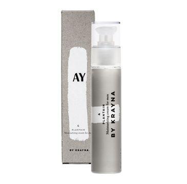 KRAYNA – Ay 4 Plantain Moisturizing Cream For Men naturalny krem dla mężczyzn z babką lancetowatą (50 ml)