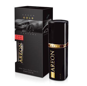 Areon Car Perfume – perfumy do samochodu Gold spray (50 ml)