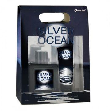 Omerta – Zestaw Silver Ocean woda toaletowa spray 100ml + żel pod prysznic 100ml (1 szt.)