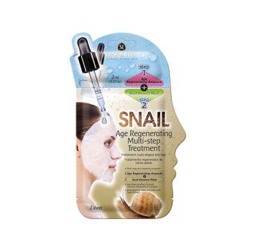 Skinlite Snail Age Regenerating Multi-Step Treatment – dwuetapowy zabieg odmładzająco-regenerujący (20 ml)