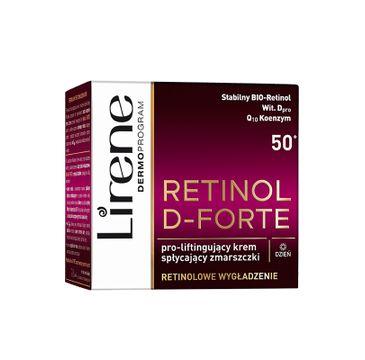 Lirene Retinol D-Forte 50+ (liftingujący krem spłycający zmarszczki na dzień 50 ml)
