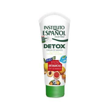 Instituto Espanol Detox – krem do rąk (75 ml)
