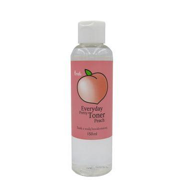 Prreti Everyday Pretty Toner Peach – tonik do twarzy z wodą brzoskwiniową (150 ml)
