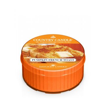 Country Candle – Daylight świeczka zapachowa Pumpkin French Toast (42 g)