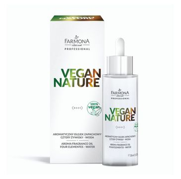 Farmona Professional – Vegan Nature aromatyczny olejek zapachowy Cztery Żywioły - Woda (30 ml)