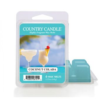 Country Candle – Wax wosk zapachowy Coconut Colada (64 g)