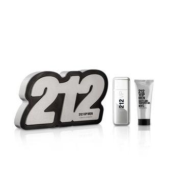 Carolina Herrera 212 VIP Men (zestaw woda toaletowa spray 50 ml + żel pod prysznic 75 ml)