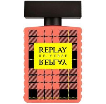 Replay – Signature Reverse For Woman woda toaletowa spray (100 ml)