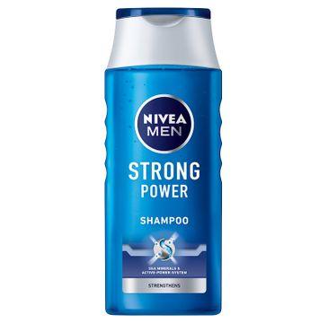 Nivea Men Strong Power  - szampon do włosów wzmacniający (400 ml)