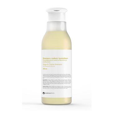 Botanicapharma – Sage & Thyme Shampoo szampon przeciwłupieżowy do włosów ze skłonnością do przetłuszczania się Szałwia i Tymianek (250 ml)