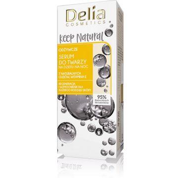 Delia serum do twarzy Keep Natural (na dzień i na noc odżywcze 10 ml)
