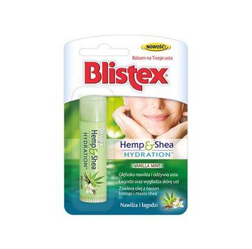 Blistex – Balsam do ust nawilżająco łagodzący Hemp & Shea Hydration (1 szt.)