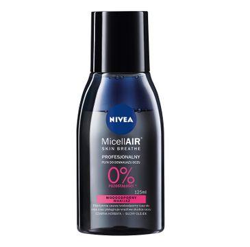 Nivea – MicellAir Skin Breathe profesjonalny płyn do demakijażu oczu - makijaż wodoodporny (125 ml)