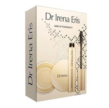 Dr Irena Eris – Make Up Your Beauty zestaw Matt & Blur Make-Up Fixer puder utrwalający makijaż 10g + Extreme Volume Mascara pogrubiający tusz do rzęs 9 g (1 szt.)