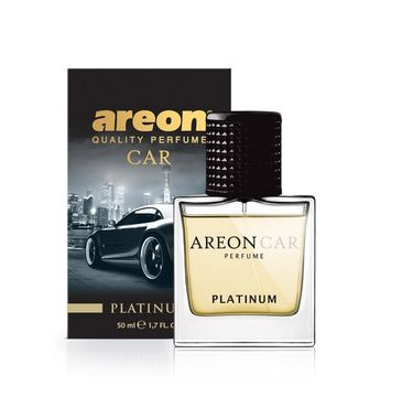 Areon Car Perfume Glass – perfumy do samochodu Platinum (50 ml)