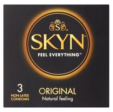 Unimil – Skyn Original nielateksowe prezerwatywy (3 szt.)
