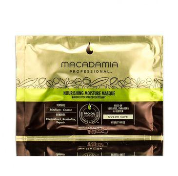 Macadamia Professional – Nourishing Moisture Masque nawilżająca maska do włosów (30 ml)