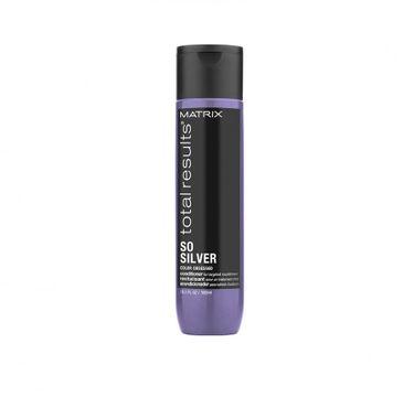 Matrix Total Results So Silver Color Obsessed Conditioner – odżywka neutralizująca żółte odcienie (300 ml)