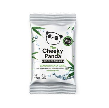 The Cheeky Panda Bamboo Handy Wipes – bambusowe chusteczki nawilżające dla dzieci i dorosłych (12 szt.)