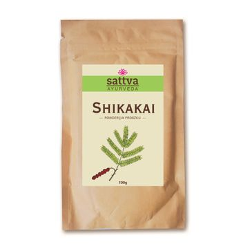 Sattva Powder zio艂a w proszku do w艂os贸w Shikakai 100g