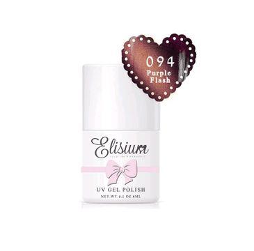 Elisium – hybrydowy do paznokci UV Gel Polish lakier  094 Purple Flash (8 ml)