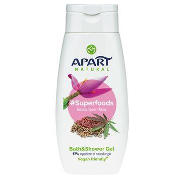 Apart Natural – Superfoods żel pod prysznic Kwiat Bananowca i Konopia (300 ml)