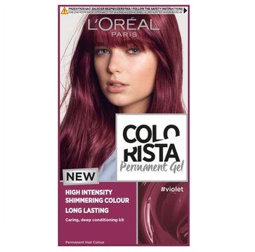 L'Oreal – Paris Colorista Permanent Gel trwała farba do włosów #violet (1 szt.)