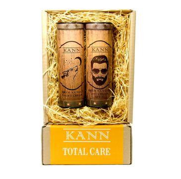 KANN Total Care Man – zestaw Day Cream krem na dzień SPF15 (50 ml) + Night Cream krem na noc (50 ml)