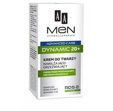AA – Men Advanced Care Dynamic 20+ krem do twarzy nawilżająco-orzeźwiający (50 ml)