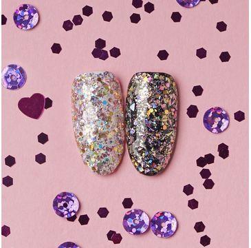 Hi Hybrid Glam – brokat do paznokci 507 Pink Gold Glitter (1,3 g)