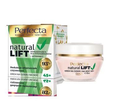 Perfecta – Natural Lift krem 45+ redukcja zmarszczek (50 ml)