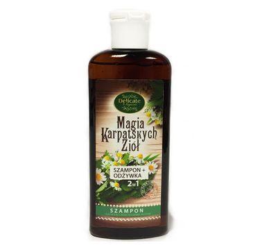 Delicate Organic Magia Karpackich Ziół szampon ułatwiający rozczesywanie włosów 250g