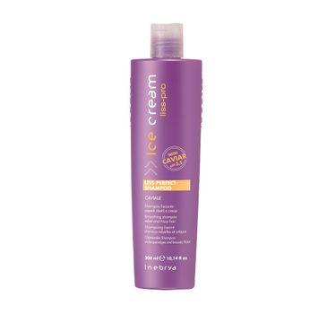 Inebrya Ice Cream Liss Perfect Shampoo – szampon wygładzający włosy (300 ml)