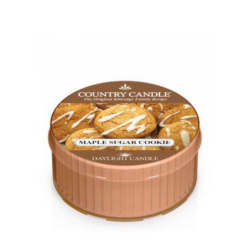 Country Candle – Daylight świeczka zapachowa Maple Sugar Cookie (42 g)
