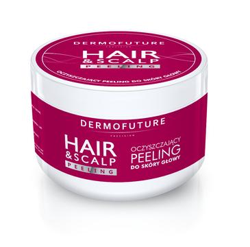 Dermofuture – Hair&Scalp Peeling oczyszczający peeling do skóry głowy (300 ml)