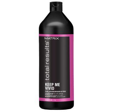 Matrix Total Results Keep Me Vivid Conditioner – odżywka chroniąca kolor włosów farbowanych (1000 ml)