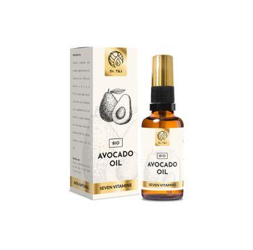 Dr. T&J Avocado Oil naturalny olej awokado BIO (50 ml)